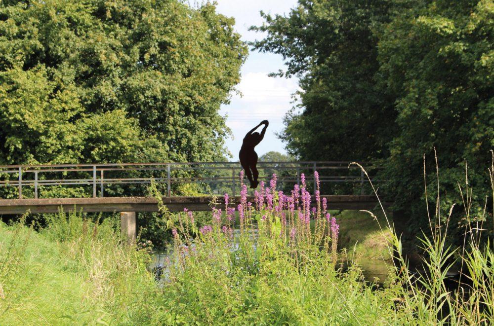 Ostbevern Touristik e.V. - Freiluftschwimmerin Brücke