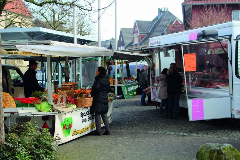 Ostbevern Touristik e.V. - Wochenmarkt Ostbevern